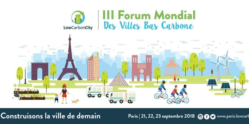 Photo of III Forum Low Carbon City : Construisons la ville de demain