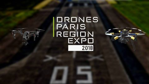 Drones Paris Region Expo 2018