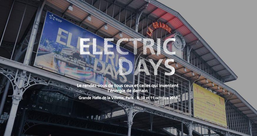 Photo of Electric Days 2018 : des innovations pour inventer l'énergie de demain avec EDF
