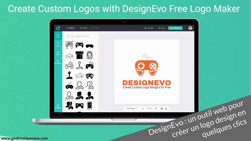 Photo of DesignEvo : un outil web pour créer un logo design en quelques clics