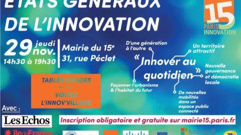 États Généraux de l'Innovation – #EGI15