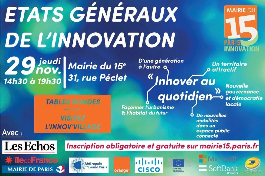 Photo of États Généraux de l'Innovation – #EGI15