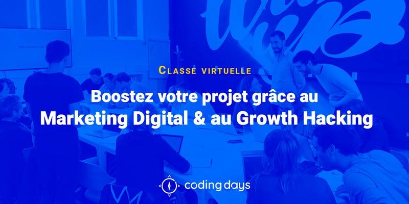 Photo of Boostez votre projet grâce au Marketing Digital & au Growth Hacking