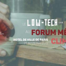 Exposition Low-tech Lab au Forum Météo Climat
