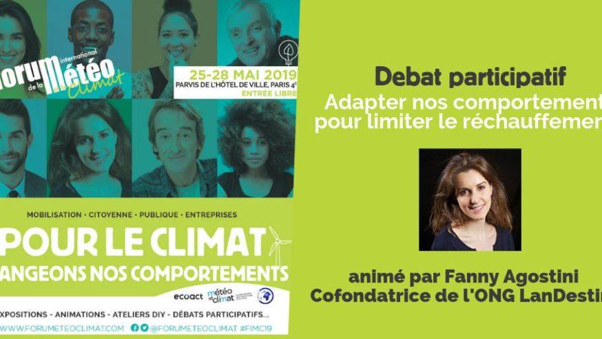 #FIMC19 : Quelle adaptation dans nos comportements pour limiter le réchauffement climatique ?
