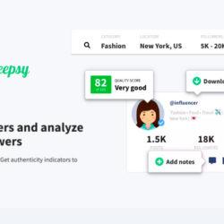 Heepsy, la plateforme pour trouver des influenceurs sur Instagram en quelques secondes