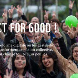 #Tech4Good : We Act for Good, l'appli pour intégrer les éco-gestes à son quotidien et agir pour la planète