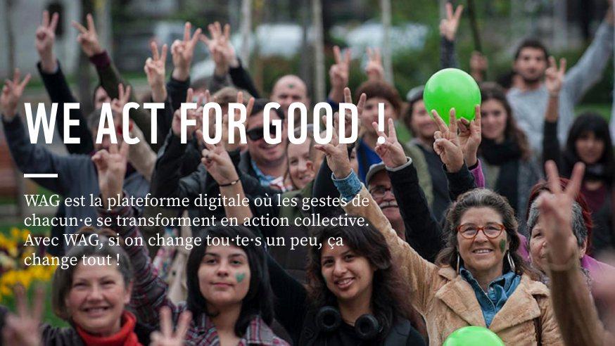 Photo of #Tech4Good : We Act for Good, l'appli pour intégrer les éco-gestes à son quotidien et agir pour la planète