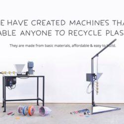 Precious Plastic, un projet opensource pour fabriquer des objets à partir du recyclage des déchets plastiques