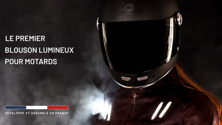Photo of #Innovation : Un blouson moto lumineux pour plus de sécurité et de visibilité pour les motards