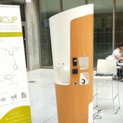 #Cleantech : CleanCup la fontaine à eau Zero Dechet pour supprimer les gobelets en plastique jetables