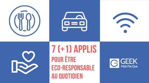 Guide Apps Eco responsable