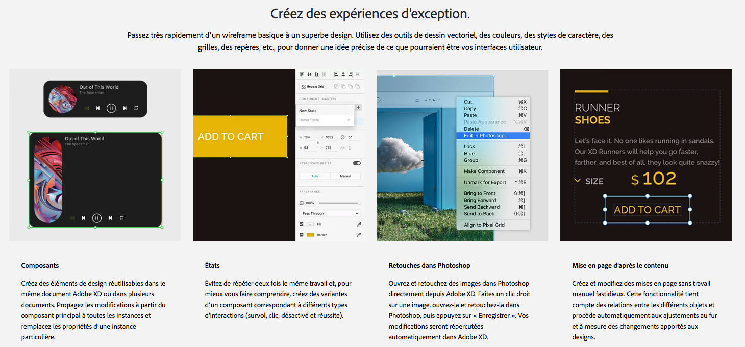 Outil prototypage site web