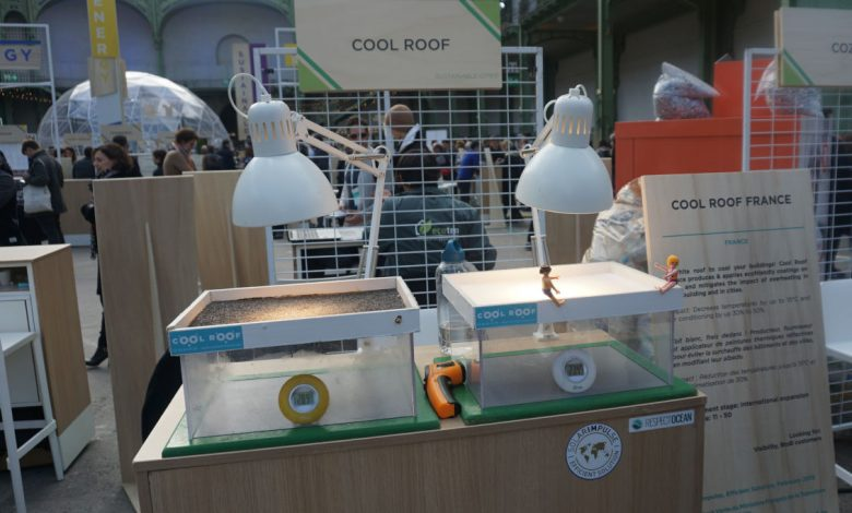 Photo of #CleanTech : Cool Roof, la peinture thermo-réflective qui rafraichit les bâtiments