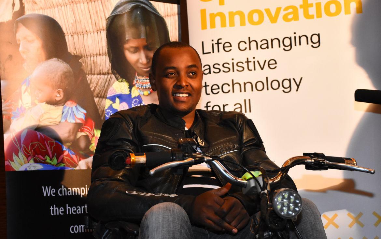 Lincoln Wamae - linccell technologies - fauteuils roulants électriques - Kenya