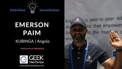 Photo of #InnovActeur : Interview de Emerson PAIM, CEO de Kubinga, service de mobilité et de livraison