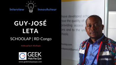 Photo of #InnovActeur : Interview de Guy-José LETA, co-fondateur de SCHOOLAP, startup EdTech