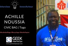 Photo of #InnovActeur : Recycler du papier ciment en sacs réutilisables – Achille NOUSSIA, Civic Bag
