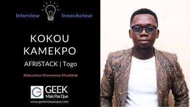 Photo of #InnovActeur : Former la jeunesse africaine aux technologies et à l'entrepreneuriat – Kokou KAMEKPO, AfriStack
