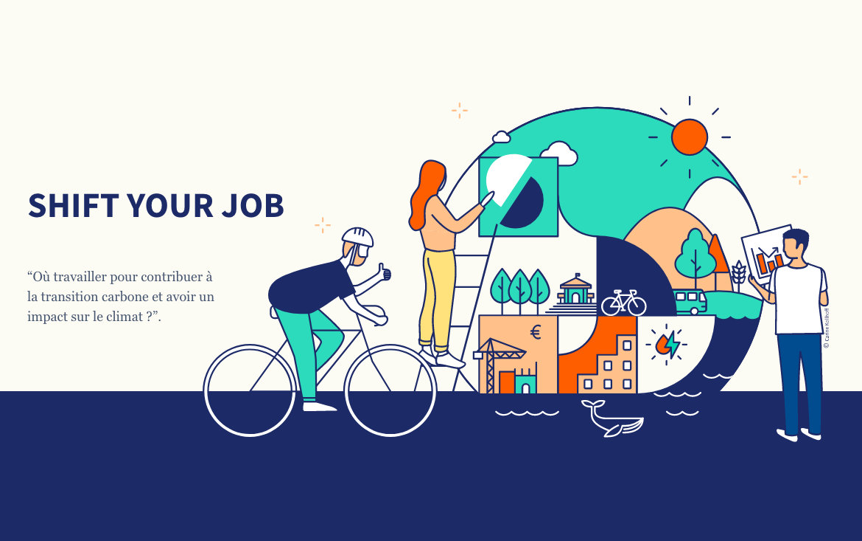 Shift Your Job : plateforme emploi pour le climat et transition carbone