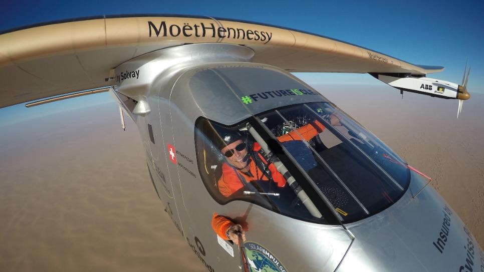 Solar impulse : un avion solaire pour promouvoir les technologies propres