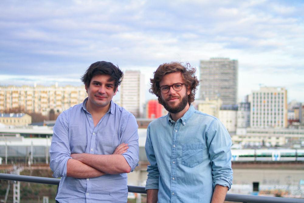 Les fondateurs de Hello Watt : Xavier Coudert et Sylvain le Falher